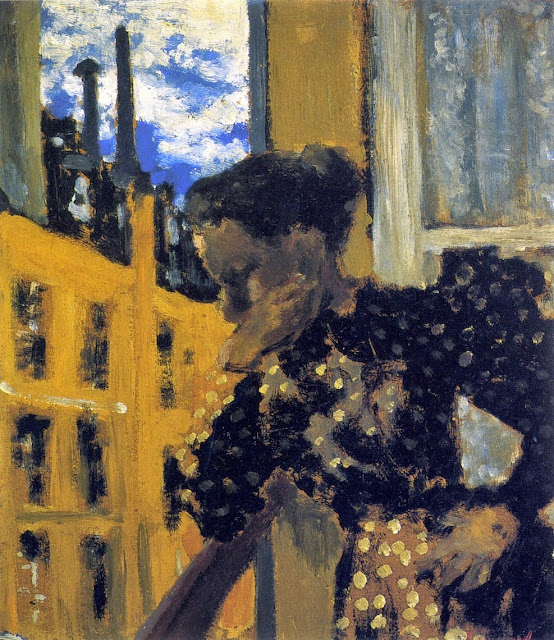 Édouard Vuillard - Marie at the Balcony Railing