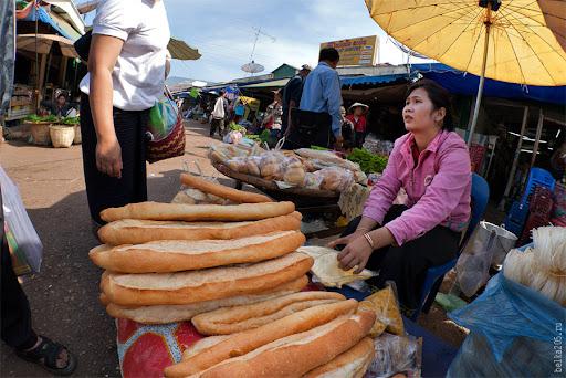 Dao Ruang market, Laos, Pakse