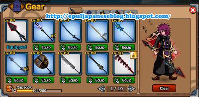 Aep Saepuloh, Cheat Ninja Saga Clan Reward (Season 1 - Season 23)