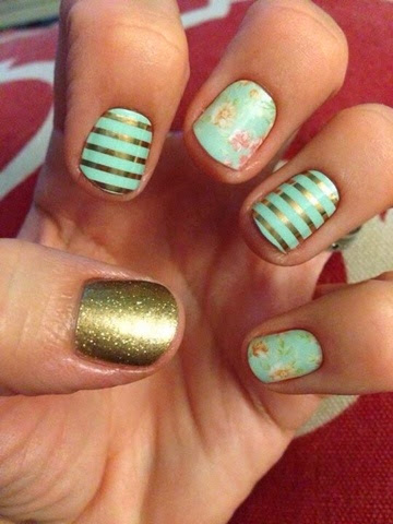 Coconut Love New Obsession Jamberry Nail Wraps
