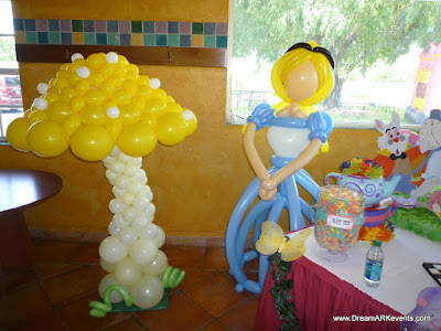 Alice in Wonderland theme party decoration