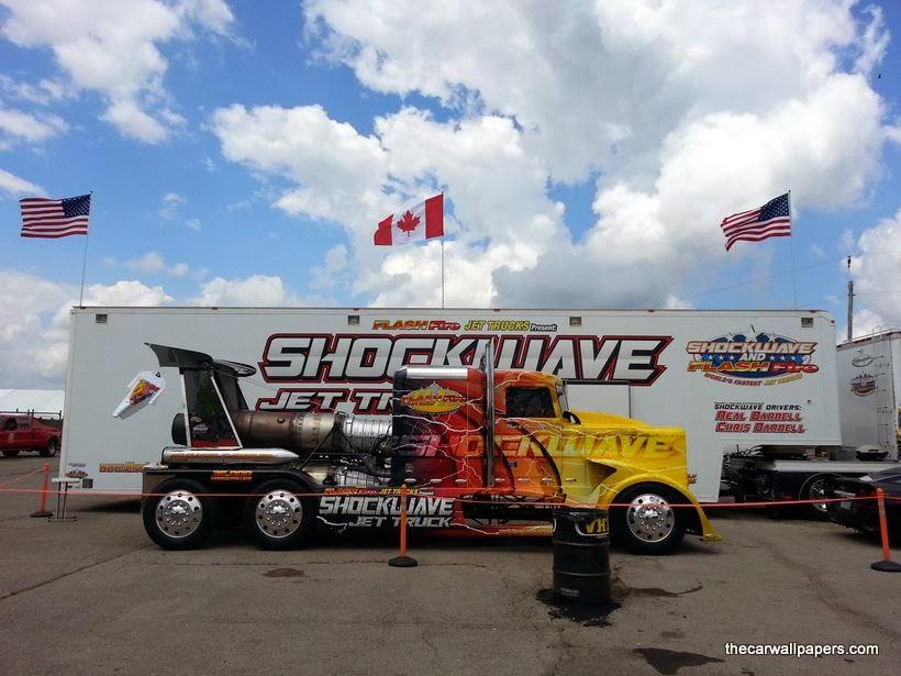 Jet Truck Shockwave