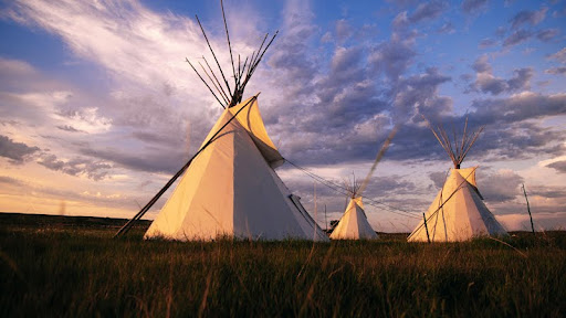 Sioux Teepee at Sunset, South Dakota.jpg