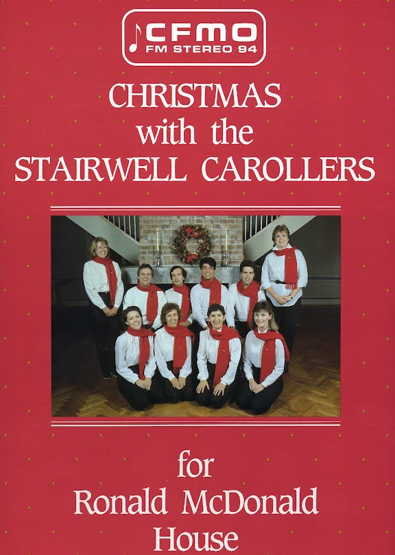 "Our first recording, ""Christmas with the Stairwell Carollers"""