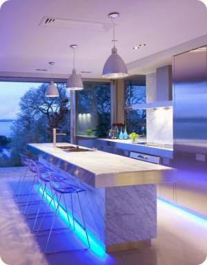 световой дизайн интерьера