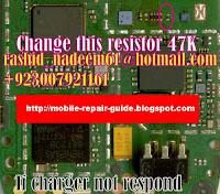 nokia 1202 charging problem
