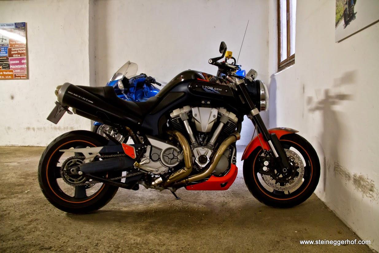 Der Motorradhelm der Zukunft