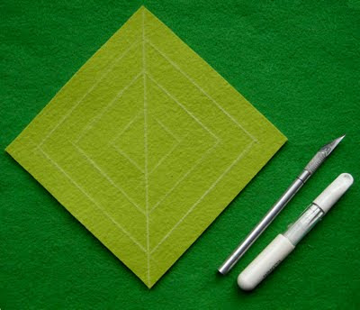 Corte um quadrado
