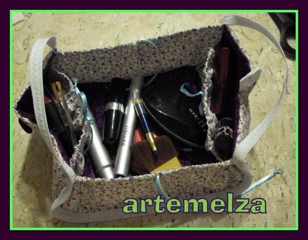 artemelza - necessaire para maquiagem