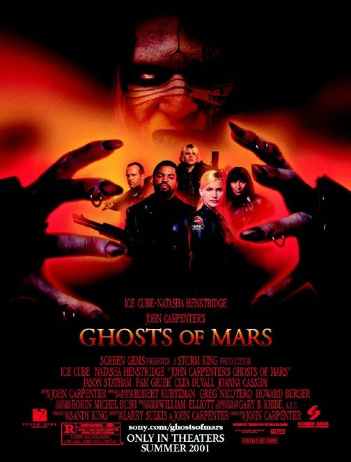Poster Of Ghosts of Mars (2001) Full Movie Hindi Dubbed Free Download Watch Online At alldownloads4u.com
