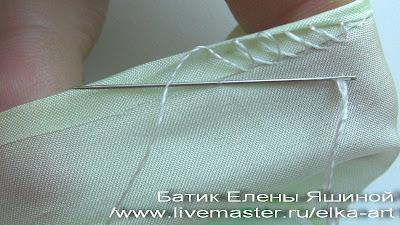 Подшить юбку невидимым швом