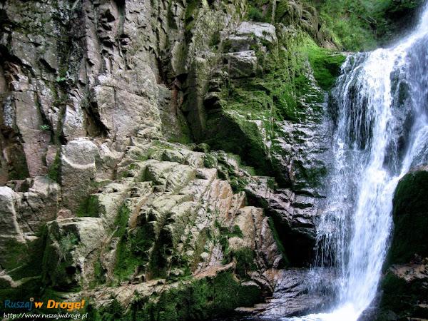 wodospad kamieńczyka latem