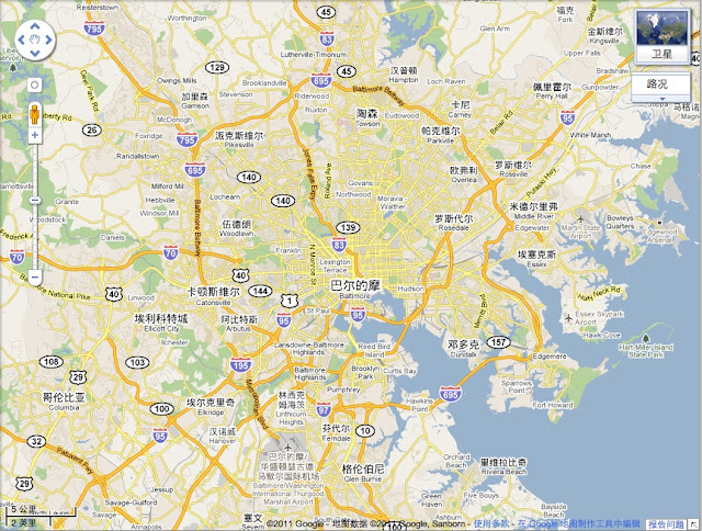 Maps In And Of China Baidu Bing Google Isidor's Fugue