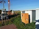 Stromkasten für den Kran