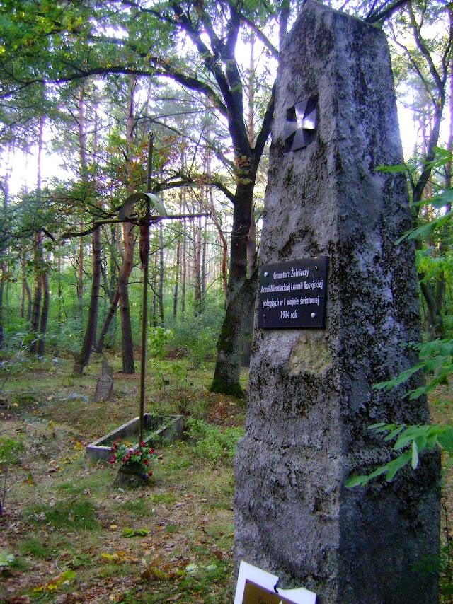 Wymysłów Piaski, cmentarz