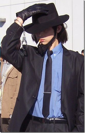 lupin iii cosplay - jigen daisuke