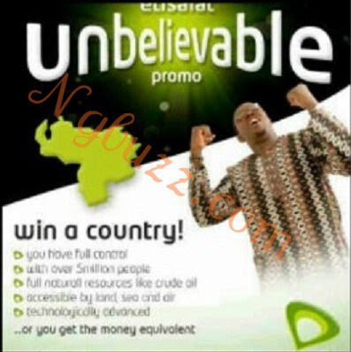 Etislat WIn a country Promo