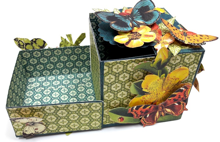 One Page Wonder Box, by Einat Kessler, Nature Sketchbook, Product by Graphic 45 photo 2.jpg