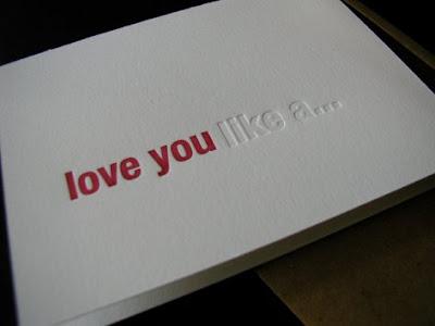 love you like a greeting card