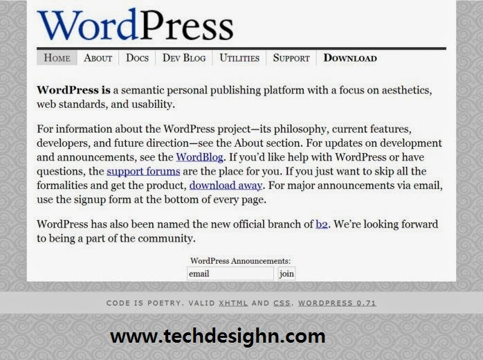 wordpress official site