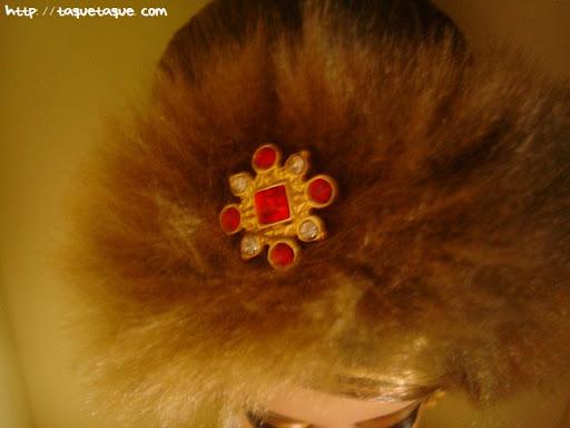 Barbie Silkstone Je ne sais quoi: broche del tocado de la cabeza