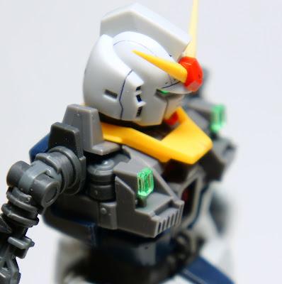 RG ガンダムMk-�U(白)を作る その3