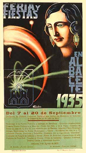Cartel Feria Albacete 1935