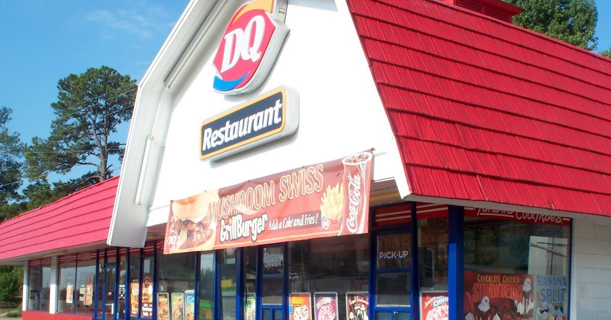 Restaurant Fast Food Menu McDonald's DQ BK Hamburger Pizza