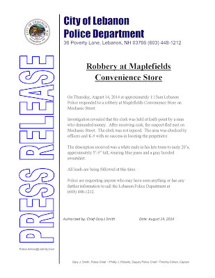 Maplefields Convenience Store Robbery