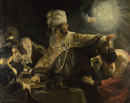Rembrandt Belsazar Rembrandt van Rijn