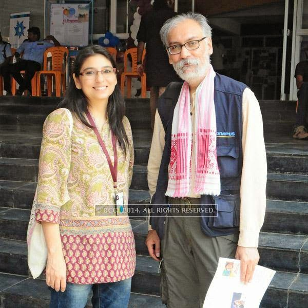 Kavita Bahl and Nandan Saxena during the  International Documentary and Short Film Festival that was held at Trivandrum.