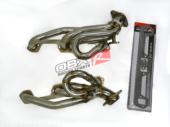 94 95 RAM 1500 2500 Dakota V8 5 2L 5 9L 2 4 WD OBX Exhaust Header Shorty