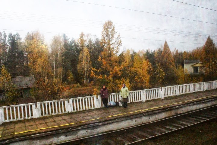 Seller trans siberian russia railway tracks