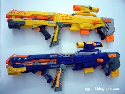 Nerf Zombie Strike Zed Squad Longshot CS-12 Blaster : Target