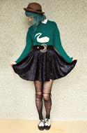 DIY Swan Sweater
