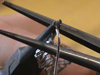 pendientes pluma cerrar gancho   Pendientes de filigrana