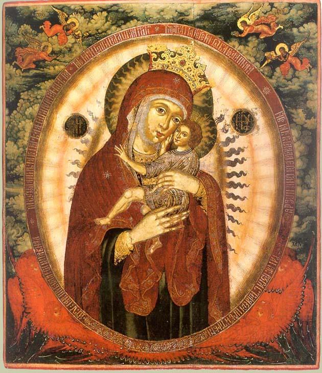 икона божией матери благодатное небо фото майкла