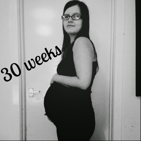 Second Pregnancy Showing at 10 Weeks my Second Pregnancy 30 Week