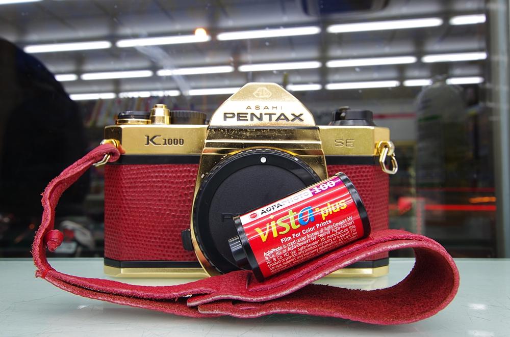 Pentax K1000,四個月拍一卷底片, 36張完整呈現