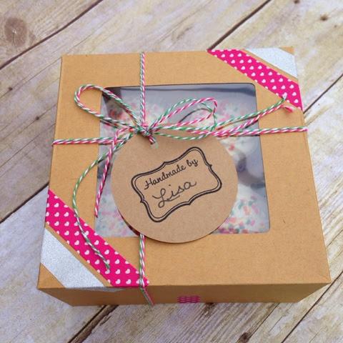 cupcake box favors
