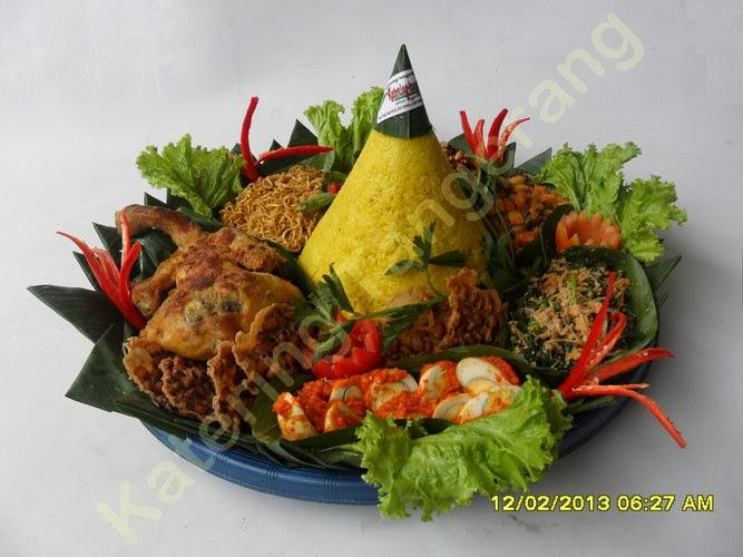 Nasi Tumpeng Duta Garden
