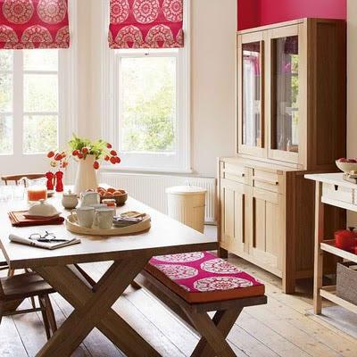 Cantinho da eli cortinas romanas com passo a passo - Tavolo cucina con panca ...