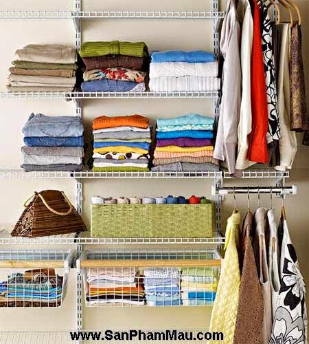 Cách trang trí tủ quần áo để được chồng khen-1