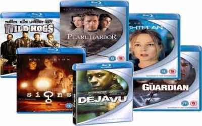Series o peliculas DVD como regalo