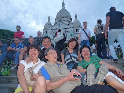 KM Âu Châu vui chơi ở Paris 16-17/08/2013