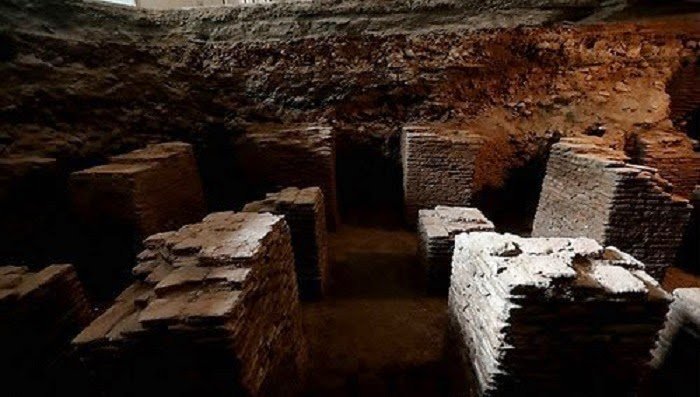 Heritage: 50 per cent of Lahore Mughal baths excavated