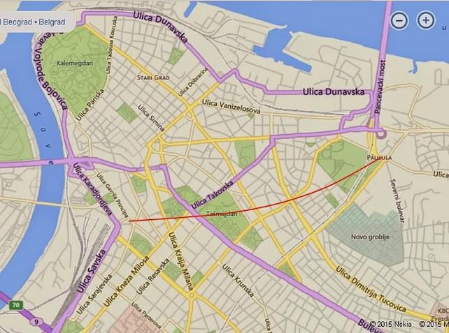 Savamala Beograd Mapa Superjoden