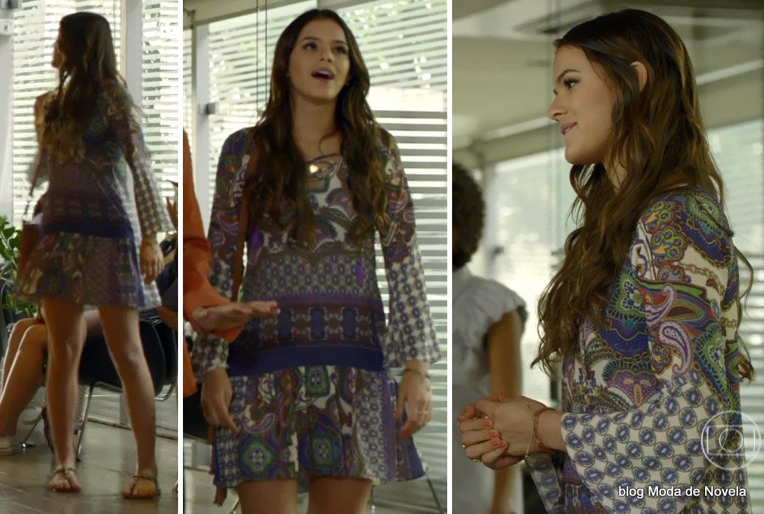 moda da novela Em Família - look da Luiza dia 21 de junho