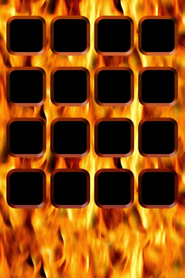 Fire Photo Background For iPhone4 Wallpaper