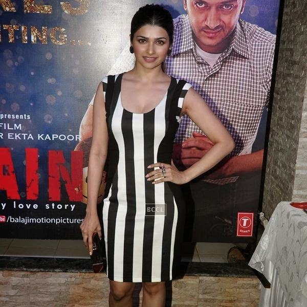 Prachi Desai during the success party of Bollywood movie 'Ek Villain', held at Ekta Kapoor's residence on July 15, 2014.(Pic: Viral Bhayani)